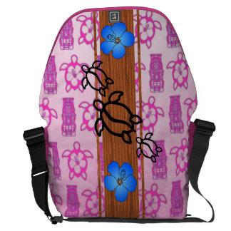 Retro Honu Surfboard Courier Bag