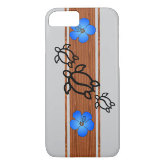 Retro Honu Surfboard iPhone 8/7 Case