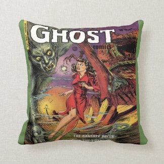 Retro Horror Comic Book Decorative Throw Pillows