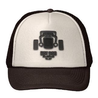 Retro Hot Rod Pure Muscle Trucker Hats