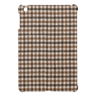 Retro houndstooth pattern iPad mini covers