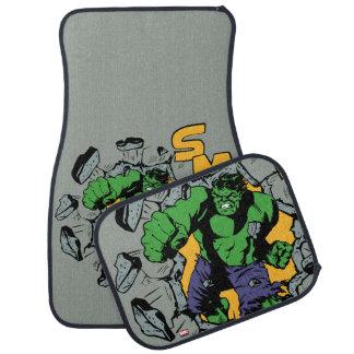 Retro Hulk Smash! Car Mat