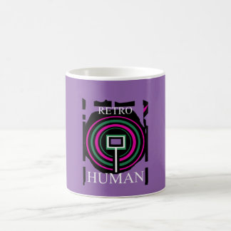 Retro Human mug