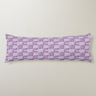 Retro in Purple and Blue Body Cushion