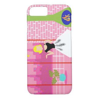 Retro In the Pink iPhone 7 Case