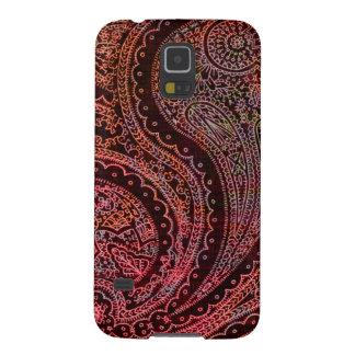 Retro Indian Paisley Galaxy S5 Case