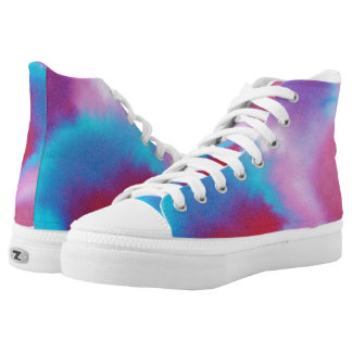 Retro Ink Style High Tops