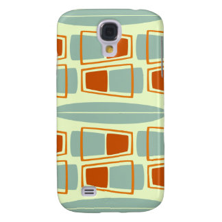 Retro Inspired 1950s Tiki Surfboard iPhone 3 Cover