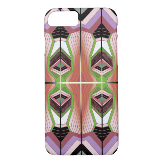 Retro Inspired Geometric Pattern iPhone 8/7 Case