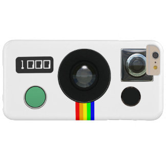 Retro Instant Camera Barely There iPhone 6 Plus Case