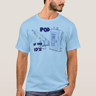 RETRO IPod of 80's Humorous Men's T-Shirt