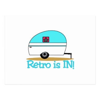 Retro Is In Postcard