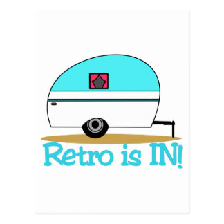 Retro Is In Postcard