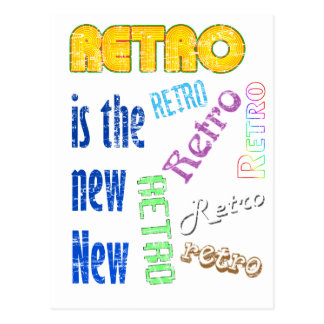 Retro is the new New Postcard