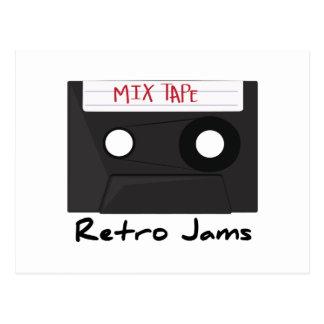 Retro Jams Post Cards