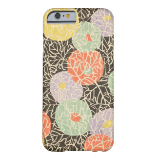 Retro Japanese Abstract Floral Barely There iPhone 6 Case