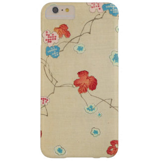 Retro Japanese Autumn Leaves Barely There iPhone 6 Plus Case