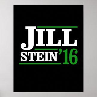 Retro Jill Stein 2016 -- - Jill Stein 2016 - Poster