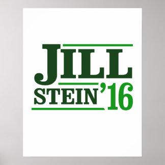 Retro Jill Stein 2016 - - Jill Stein 2016 - Poster