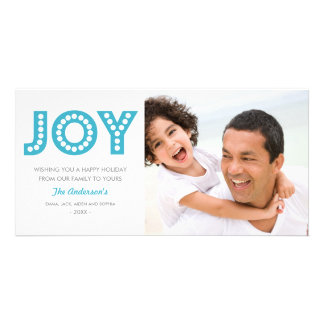 RETRO JOY HOLIDAY PHOTO CARD