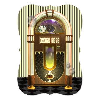 Retro Jukebox Party Invitations