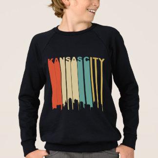 Retro Kansas City Skyline Sweatshirt