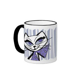 Retro Kat Coffee Mugs