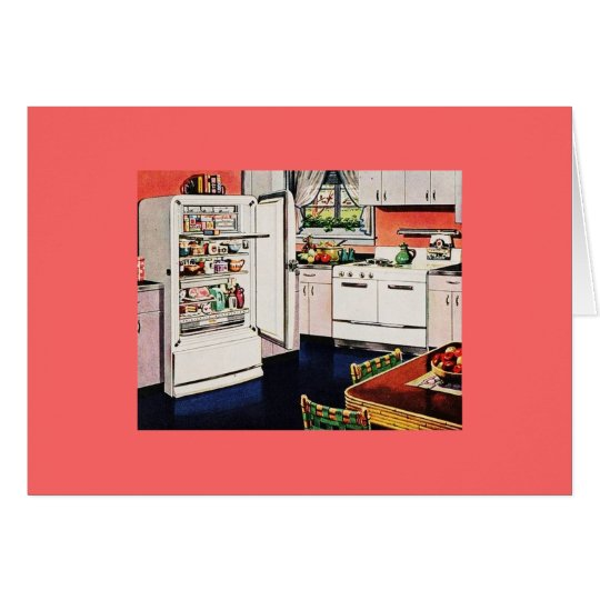 Retro Kitchen Mother's Day Card