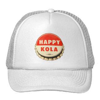 Retro Kitsch Vintage Soda Pop Happy Kola Cap Hat