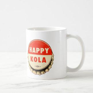 Retro Kitsch Vintage Soda Pop Happy Kola Cap Mug