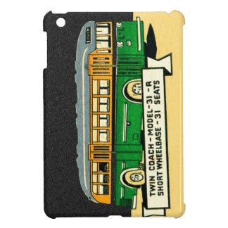 Retro Kitsch Vintage Twin Coach Bus 31-R iPad Mini Cases