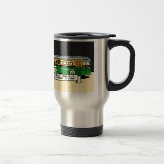 Retro Kitsch Vintage Twin Coach Bus 31-R Coffee Mug