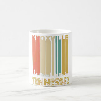 Retro Knoxville Tennessee Skyline Coffee Mug