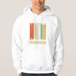 Retro Knoxville Tennessee Skyline Hoodie