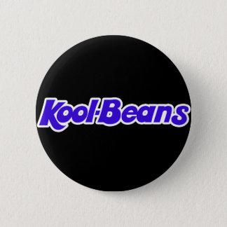 Retro Kool Beans! 6 Cm Round Badge