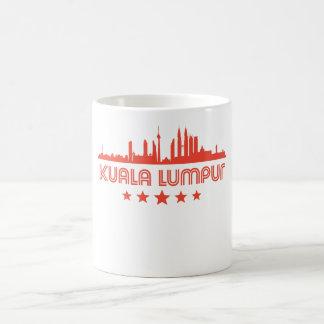 Retro Kuala Lumpur Skyline Coffee Mug