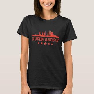 Retro Kuala Lumpur Skyline T-Shirt