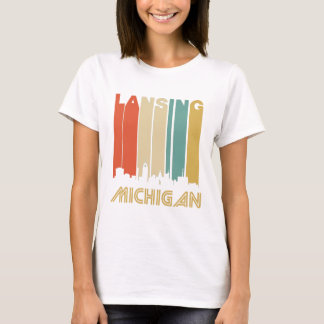 Retro Lansing Skyline T-Shirt