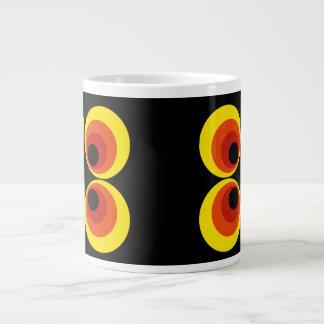 Retro Large Coffee Mug