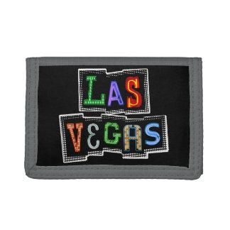 Retro Las Vegas Neon Trifold Wallet