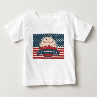 Retro Las Vegas Skyline Baby T-Shirt