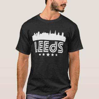 Retro Leeds Skyline T-Shirt