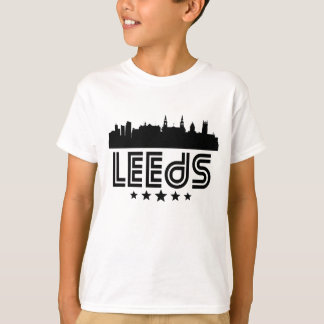 Retro Leeds Skyline T-Shirt
