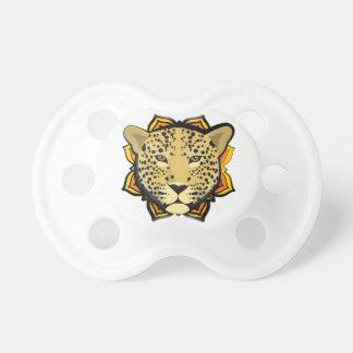 Retro Leopard Baby Pacifier