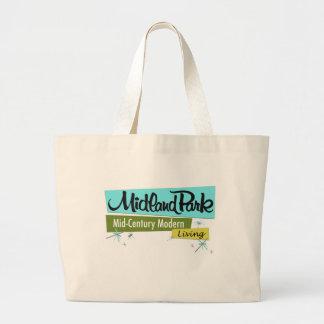 Retro-licious Mid-Century Modern Large Tote Bag