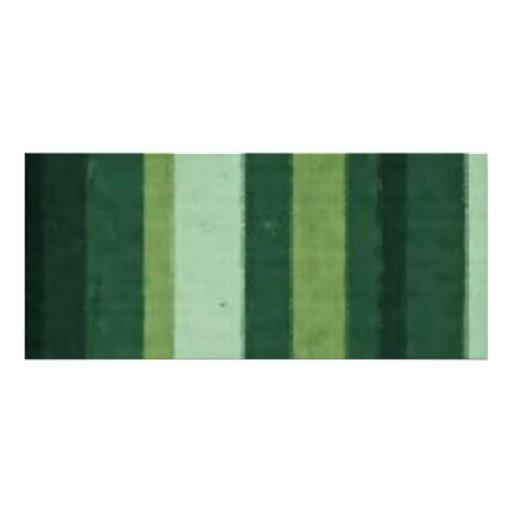 Retro Lime Green Grunge Stripe Custom Rack Card