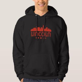 Retro Lincoln Skyline Hoodie