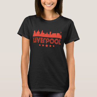 Retro Liverpool Skyline T-Shirt