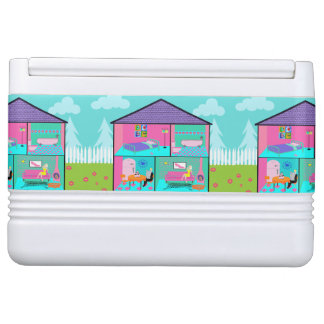 Retro Living Dollhouse Igloo Can Cooler Esky