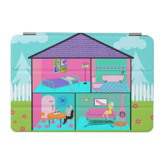 Retro Living Dollhouse iPad Mini Cover